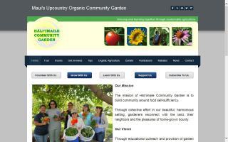 Hali'imaile Community Garden
