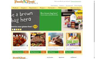 Grocery supermarket featuring organic & natural foods