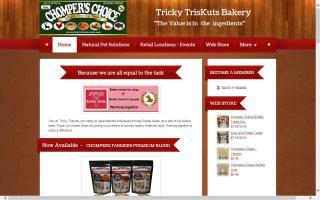 Chompers Choice Gluten free dog treats