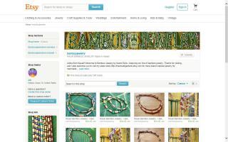 Kauai Bamboo Jewelry