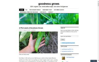 Goodness Grows
