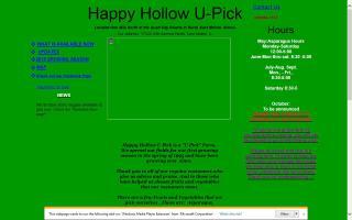 Happy Hollow U-Pick