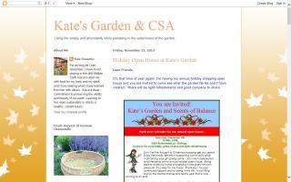 Kate's Garden & CSA