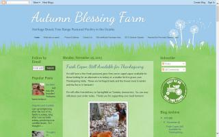 Autumn Blessing Farm
