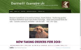 Bennett Gamebirds