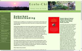 Ecolochi- Suburban Homesteading