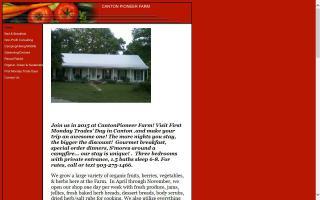 Canton Pioneer Farm