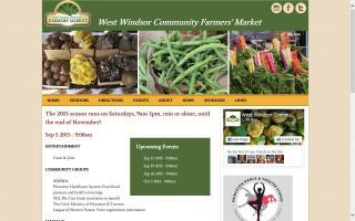 West Windsor Community Farmers' Market