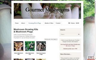 Gourmet Mushroom Products