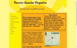 Forever Sunrise Organics