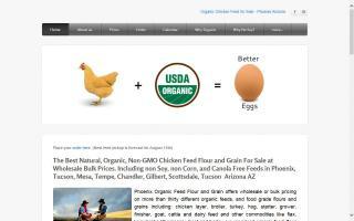Phoenix Organic Feed Flour & Grain