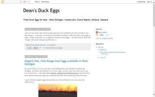 Dean's Duck Eggs