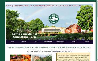 L.E.A.F (Lewis Educational Agriculture Farm)