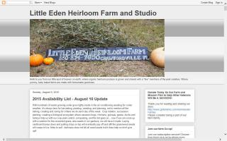 Little Eden Heirloom Farm