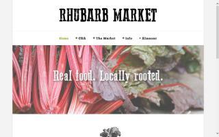 Rhubarb Market