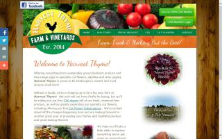 Harvest Thyme Farm & Vineyards, LLC.