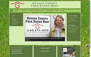 Nevada County Free Range Beef