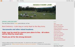 Sierra Farms Lamb