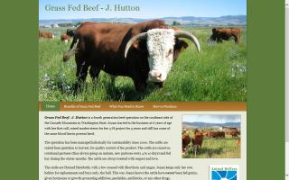 Grass Fed Beef - J. Hutton
