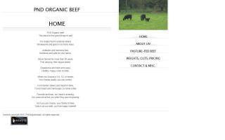 PnD Organic Beef
