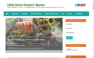 125th Street Fresh Connect Farmers' Market