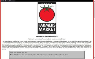 Amelia Farmers Market