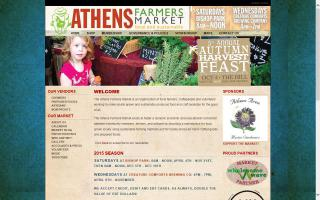 Athens Farmers Market Downtown