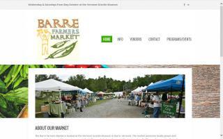 Barre Farmers Market