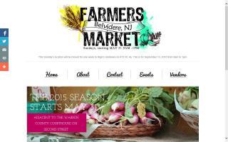 Belvidere NJ Farmer's Market