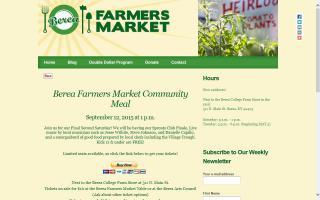 Berea Farmer's Market
