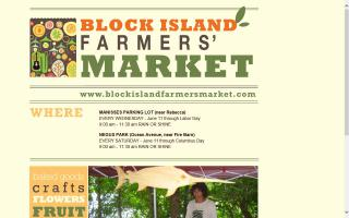 Block Island Farmers Market - Hotel Manisses