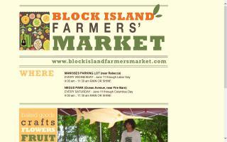 Block Island Farmers Market - Negus Park