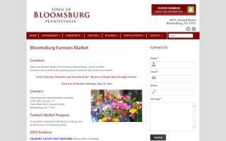 Bloomsburg Farmers Market