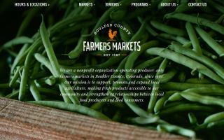 Boulder County Farmers' Market - Longmont & Boulder