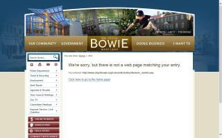 Bowie Farmers' Market
