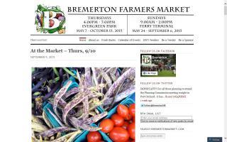 Bremerton Farmers Market - Ferry Terminal