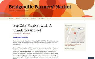 Bridgeville Farmers Market