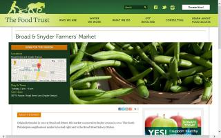 Broad and Snyder Farmers' Market