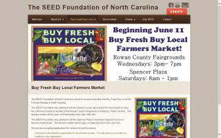 Buy Fresh Buy Local of North Carolina Farmers Market - Salisbury