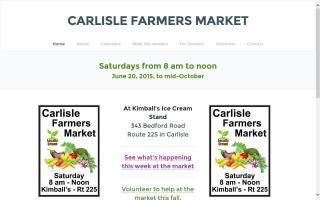 Carlisle Farmers Market