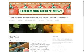 Chatham Mills Farmers' Market