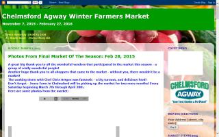 Chelmsford Agway Winter Farmers' Market