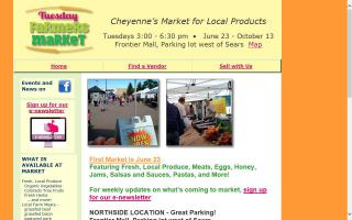 Cheyenne Tuesday Farmers' Market