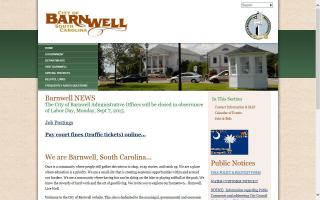 City of Barnwell Farmers' Market