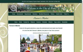 City of Zion's Farmers Market