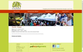 CitySeed Hill Farmers Market