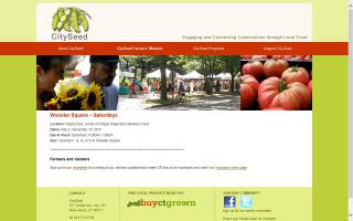 CitySeed Wooster Square Farmers Market