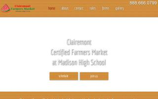 Clairemont Certified Farmers Market at Madison High School
