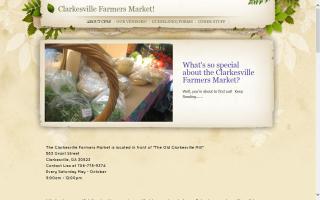 Clarkesville Farmers Market