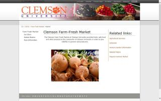 Clemson Farm-Fresh Market